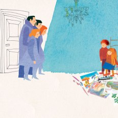 Da: Italo Calvino, I disegni arrabbiati, Mondadori