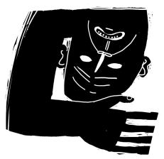 Scholastic illustration: Death, 2007