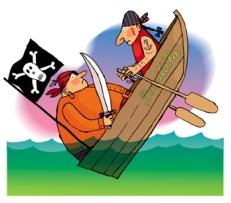 Silvia Roncaglia, Il pirata Cicciobombo, Emme Edizioni 2007