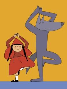 cappuccetto-rosso-yoga